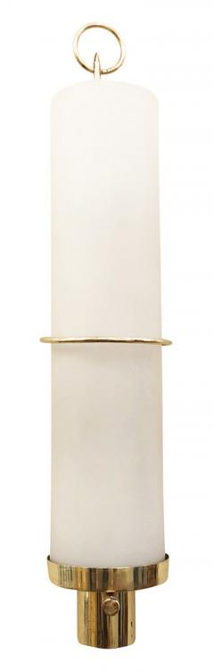 Pair of Cylindrical Mid Century Wall Lights - 1147845