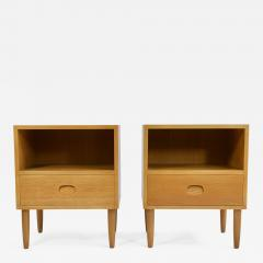 Pair of Danish Modern Nightstands - 949047