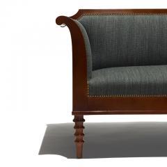 Pair of Danish Neo Antique Mahogany Sofas - 1805631