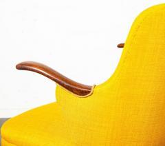 Pair of Danish Rosewood Mid Century Arm Chairs - 1696232