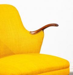 Pair of Danish Rosewood Mid Century Arm Chairs - 1696233