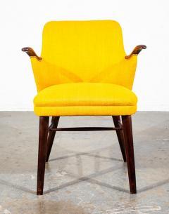 Pair of Danish Rosewood Mid Century Arm Chairs - 1696234