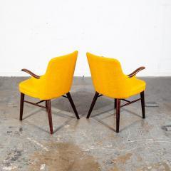 Pair of Danish Rosewood Mid Century Arm Chairs - 1696236