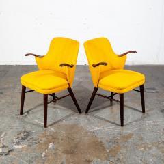 Pair of Danish Rosewood Mid Century Arm Chairs - 1696237