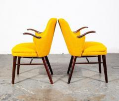 Pair of Danish Rosewood Mid Century Arm Chairs - 1696244