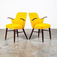 Pair of Danish Rosewood Mid Century Arm Chairs - 1696246