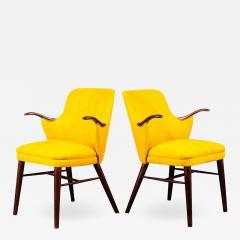 Pair of Danish Rosewood Mid Century Arm Chairs - 1698584