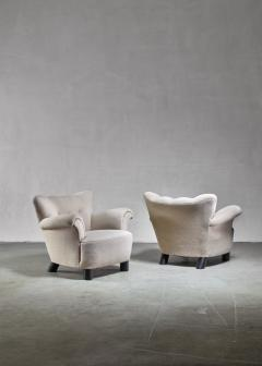Pair of Danish easy chairs 1940s - 892748