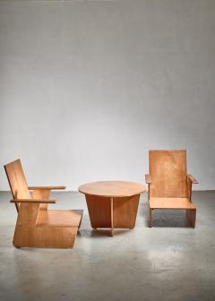 Pair of De Stijl era Modernist chairs Dutch - 1186410