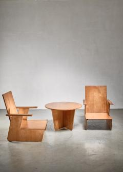 Pair of De Stijl era Modernist chairs Dutch - 1186411