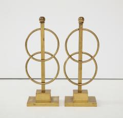 Pair of Decorative Andirons Fireplace accessories - 1795991