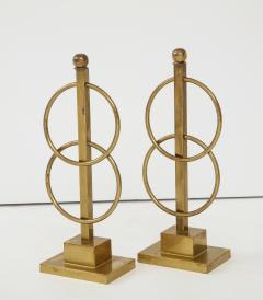 Pair of Decorative Andirons Fireplace accessories - 1795992
