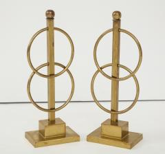 Pair of Decorative Andirons Fireplace accessories - 1795993