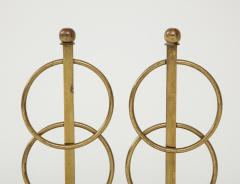 Pair of Decorative Andirons Fireplace accessories - 1795997