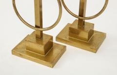 Pair of Decorative Andirons Fireplace accessories - 1795998