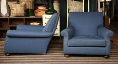 Pair of Deep Deco Club Chairs - 1192506