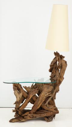 Pair of Driftwood Lamp Tables - 990706