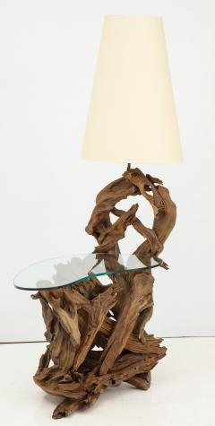 Pair of Driftwood Lamp Tables - 990707