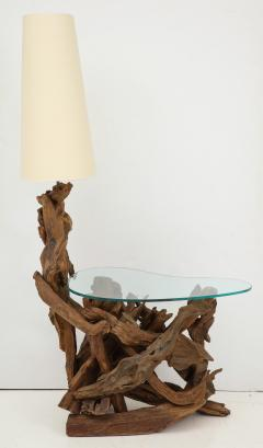 Pair of Driftwood Lamp Tables - 990708