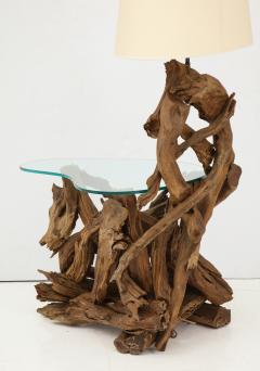 Pair of Driftwood Lamp Tables - 990711