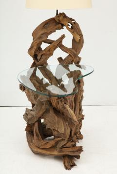 Pair of Driftwood Lamp Tables - 990712
