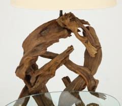 Pair of Driftwood Lamp Tables - 990715