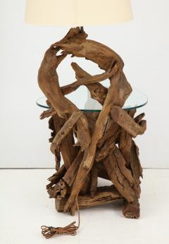 Pair of Driftwood Lamp Tables - 990716