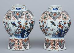 Pair of Dutch Delft Vases 17th Century - 266988