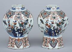 Pair of Dutch Delft Vases 17th Century - 266989