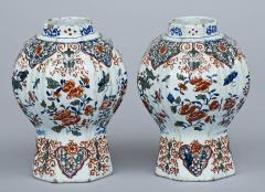 Pair of Dutch Delft Vases 17th Century - 266990