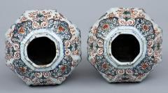 Pair of Dutch Delft Vases 17th Century - 266992
