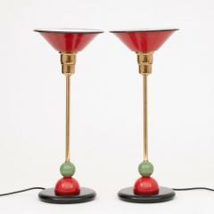 Pair of Dutch Memphis Style Table Lamps - 2107797
