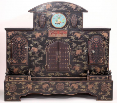 Pair of Early 20th Century Chinese Ancestral Shrines - 586118