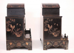 Pair of Early 20th Century Chinese Ancestral Shrines - 586122