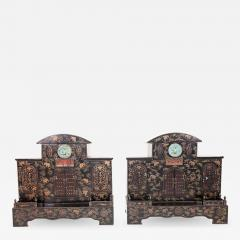 Pair of Early 20th Century Chinese Ancestral Shrines - 612485
