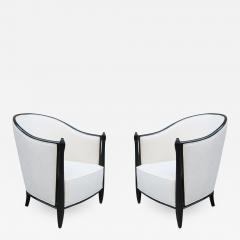Pair of Ebonized Art Deco Berg res - 1853945