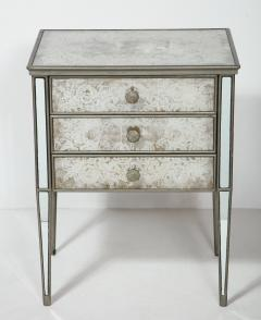 Pair of Eglomis Mirrored Tables - 1924773