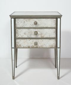 Pair of Eglomis Mirrored Tables - 1924774