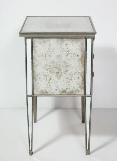 Pair of Eglomis Mirrored Tables - 1924779