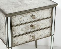 Pair of Eglomis Mirrored Tables - 1924780