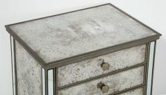 Pair of Eglomis Mirrored Tables - 1924781