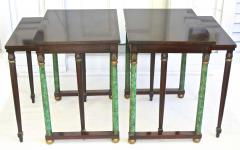 Pair of Empire Revival Nesting End Tables - 1836622
