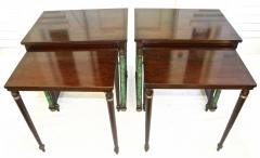 Pair of Empire Revival Nesting End Tables - 1836623