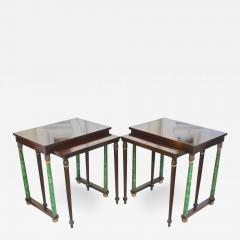 Pair of Empire Revival Nesting End Tables - 1839917