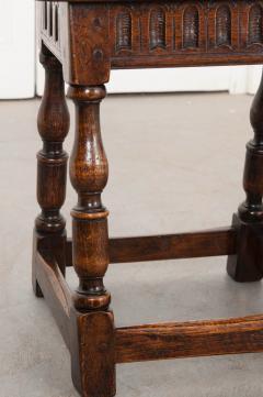 Pair of English 19th Century Oak Joint Stools - 1112782