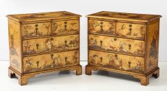 Pair of English Chinoiserie Chests - 1262334