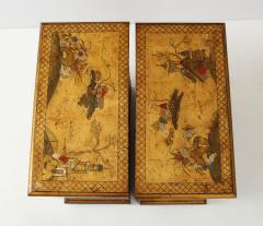Pair of English Chinoiserie Chests - 1262336