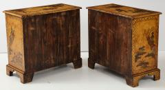 Pair of English Chinoiserie Chests - 1262339