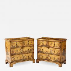 Pair of English Chinoiserie Chests - 1263362