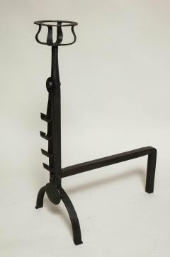 Pair of English Cotswold School Andirons - 664070